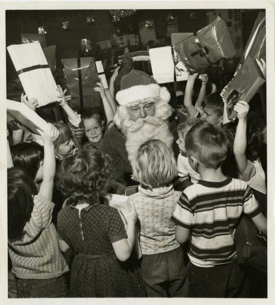 1950s-Santa