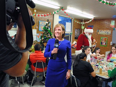 KSL's Holiday Visit and Interview
